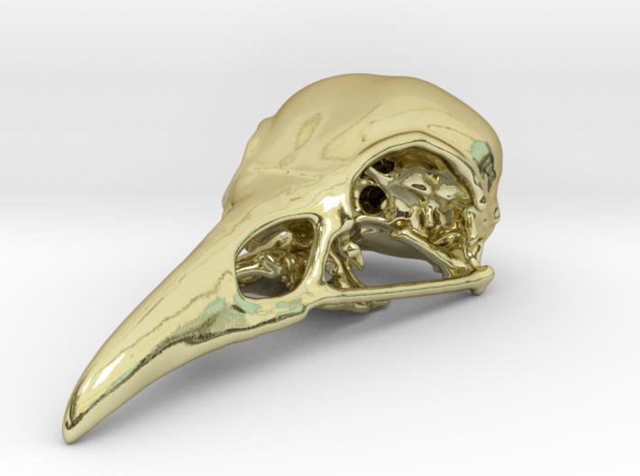 Bird Skull - Micro 3d printed