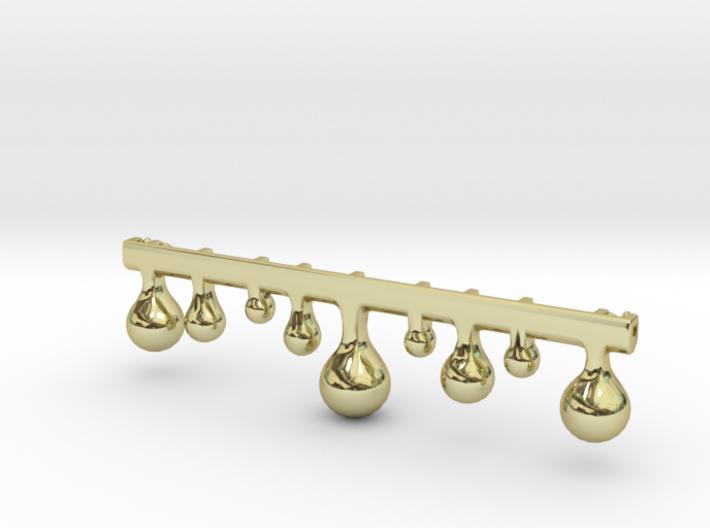 Tearswoods pendant 3d printed