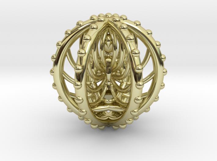 Meditation Energy Pendant 3d printed