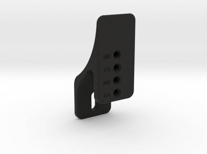 Plate Mount of Vertical Plate Mount Set (Mini) 3d printed