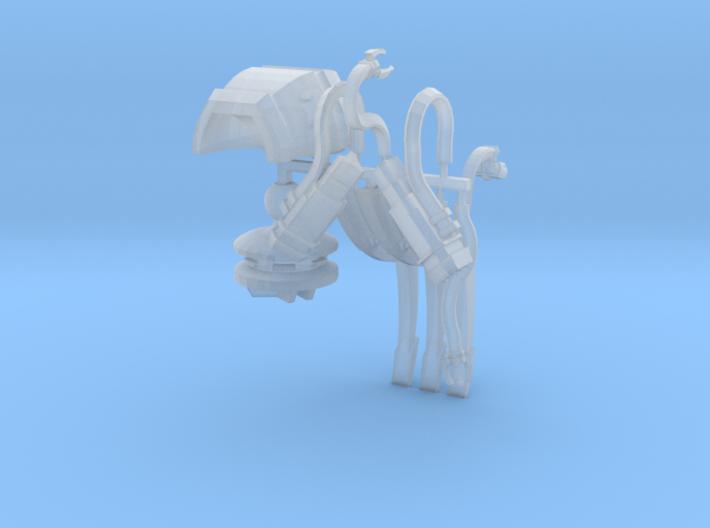 Extraterrestrial Tripod War Machine 3d printed