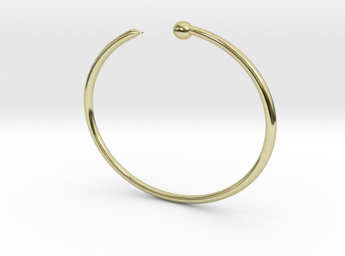 Serpent Bracelet - Small 3d printed