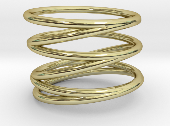 Finger Cage Ring - Sz. 10 3d printed