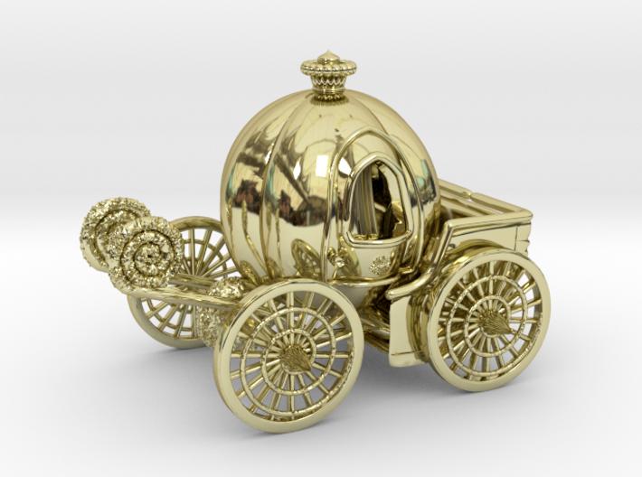 Pumpkin carriage LV2 3d printed