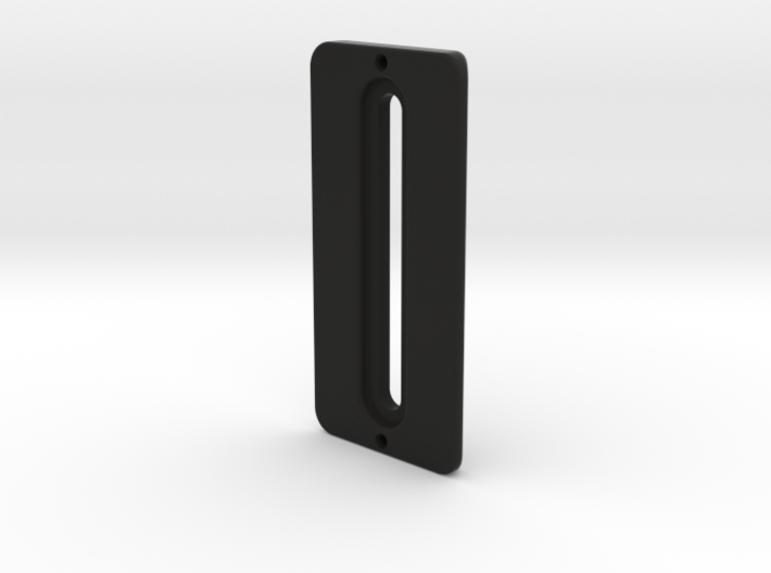 Vertical Plate for Vertical Plate Mount Set 3d printed