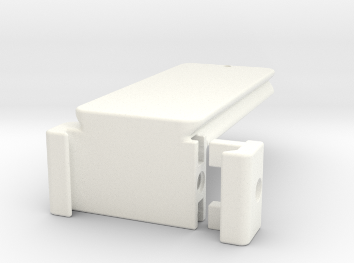 Arca-Swiss Style Plate with Vertical Clamp 3d printed