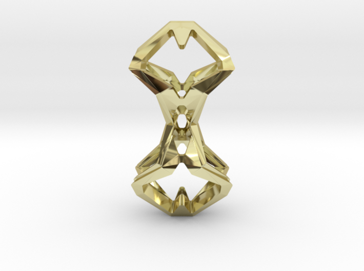 HEART TO HEART Timeless, Pendant 3d printed