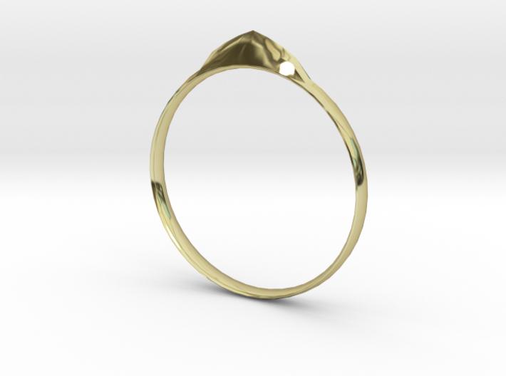 Edge Ring US Size 7 UK Size O 3d printed