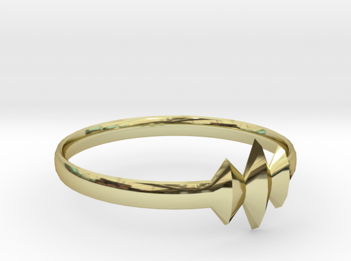 Elleve Ring US Size 7 UK Size O 3d printed