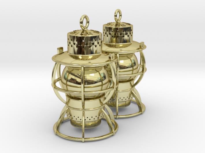 Dressel Lamp Earrings or charms 3d printed