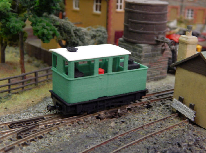 009 Sentinel (Double Window Cab) - Part 4 3d printed Add a caption...