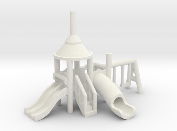 Spielplatz klein - 1:220 (Z scale) 3d printed