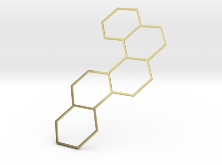 Serotonin Necklace 3d printed