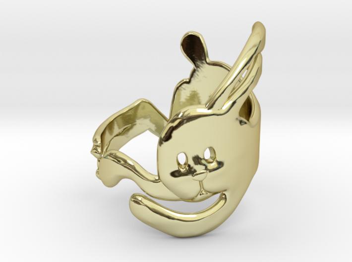 Run Rabbit Ring 3d printed