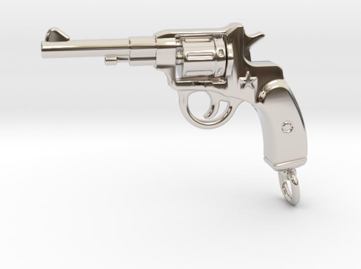 Russian Gun - NAGANT 3d printed