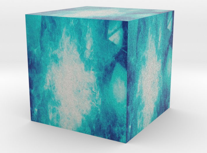 the tesseract 3d printed