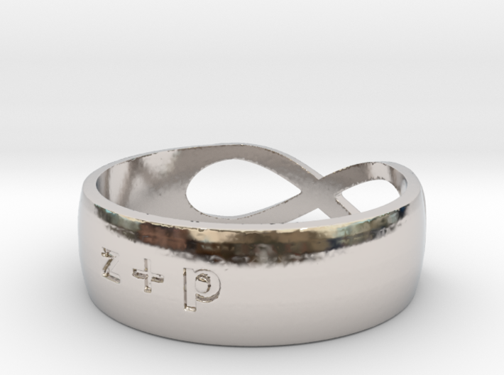 The Wedding Band 3d printed