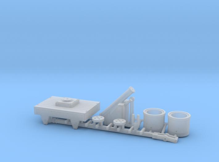 NZ120 Pneumatic Coaling Crane Kit 3d printed