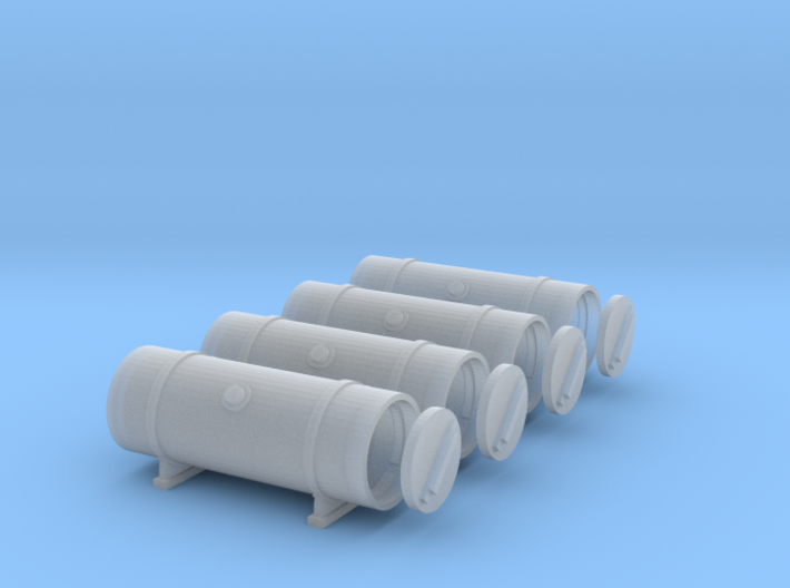 1/35 T-34 External fuel tanks 3d printed