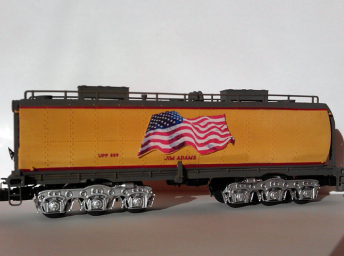 UP Water Tender O Scale 1:48 Jim Adams 3d printed