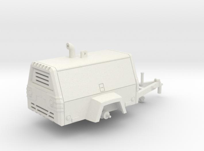 Towable Air Compressor 3d printed