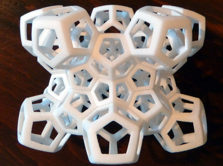 30-cell puzzle (large) 3d printed