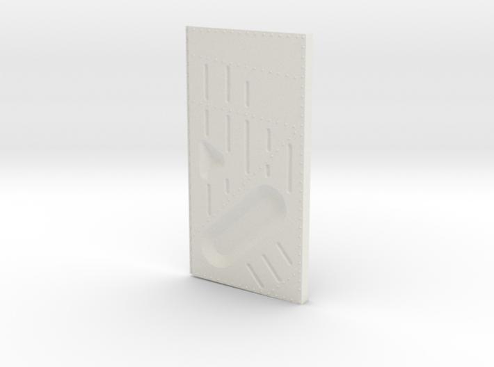 Ziroli Corsair Frame Door Right Outer 3d printed