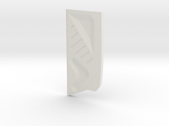 Ziroli Corsair Frame Door Right Inner. 3d printed