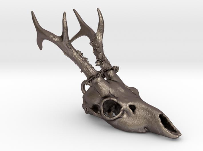 Roe Deer Skull Pendant 3d printed
