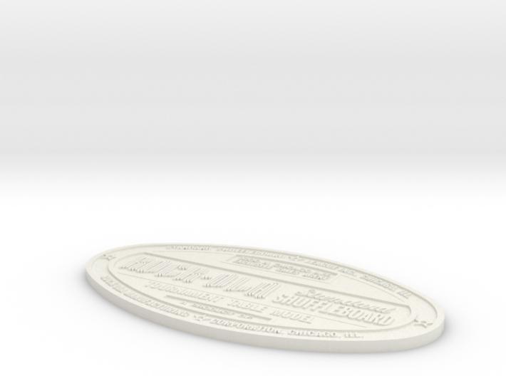 Original 50's Rock-Ola Badge 3d printed