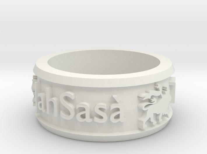 JahSasa Ring 3d printed