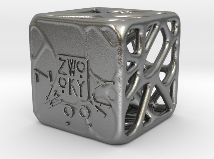 ZWOOKY Style 3300  -  Cubic voronoi 3d printed