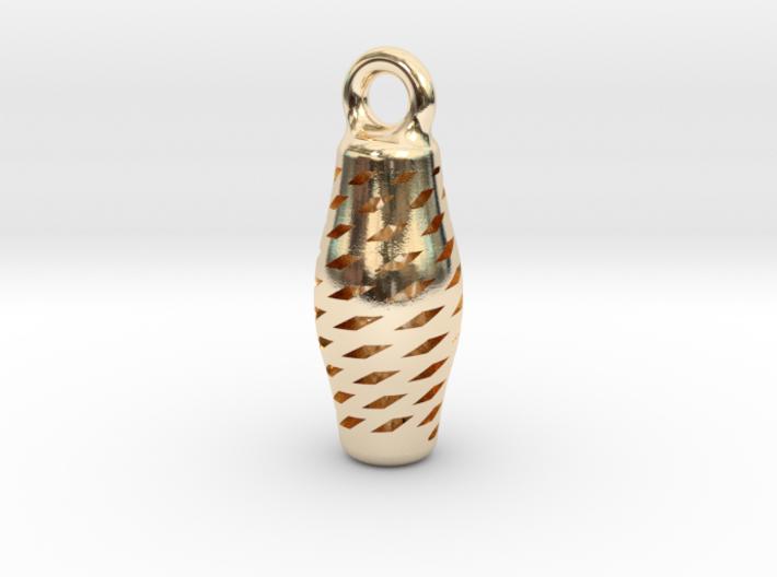 Turandot Earring 3d printed
