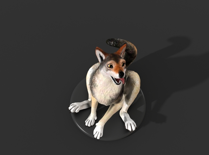Silly Wolf 3d printed Example 8