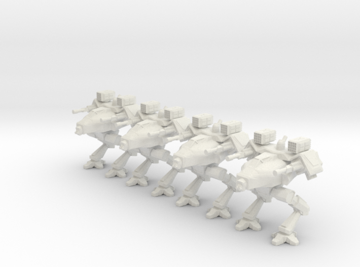 Walker Platoon 6mm 3d printed