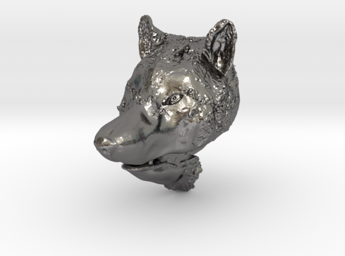 Pendant for ring(Wolf) 3d printed