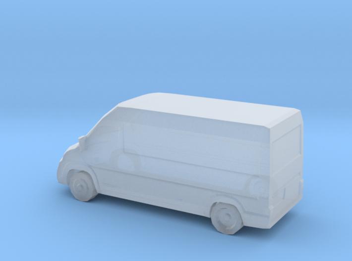 RAM Promaster/Fiat Ducato van (Small Scale) 3d printed