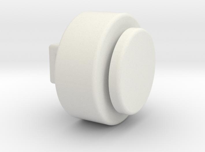 Cartoon sew on Eye - 0.9 mm between parts 3d printed
