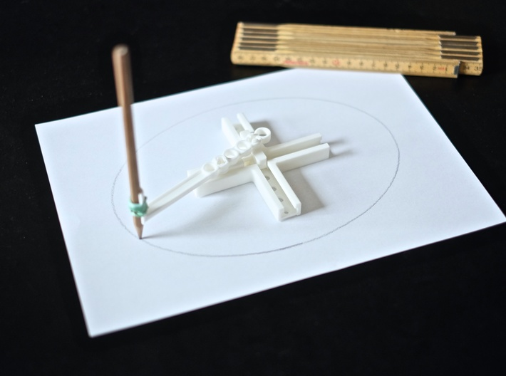 Ellipsograph 3d printed