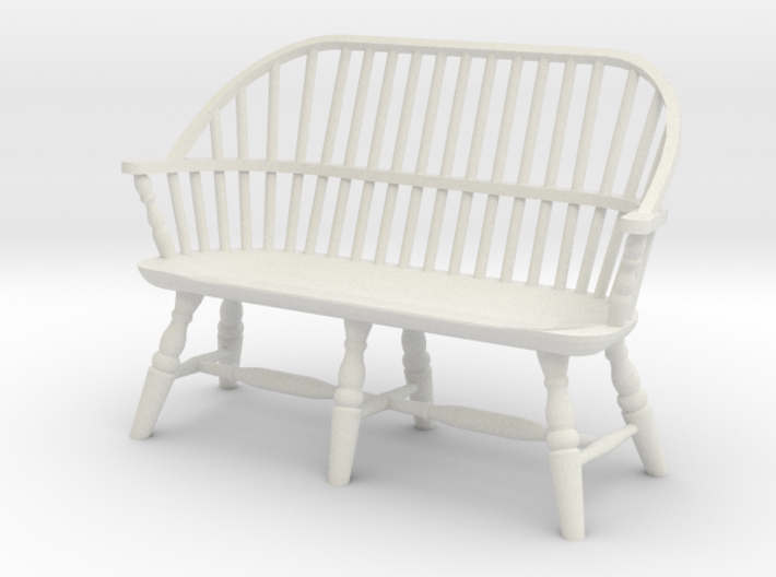 1:24 Windsor Settee 3d printed