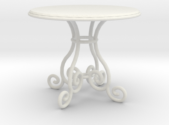 1:24 Rod Iron Table 3d printed