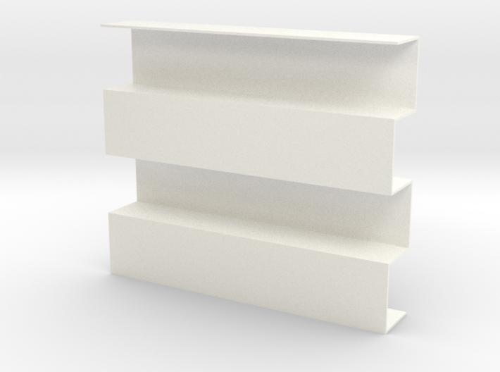 Zipper Room Divider 1:12 scale Bookshelf 3d printed