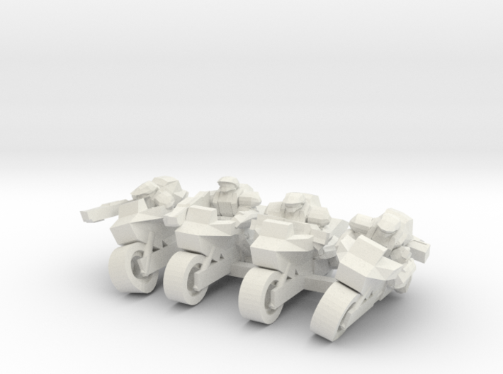 Scout Bikes 10mm 3d printed