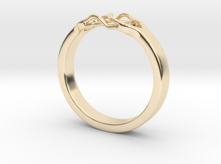 Roots Ring (23mm / 0,9inch inner diameter) 3d printed