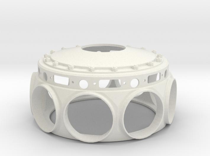Le Rhone- 80hp - Crank Case - 1:4 Scale 3d printed