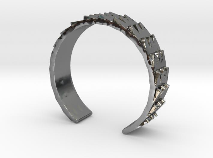 Metal Snake Skin - Sz. 6 3d printed
