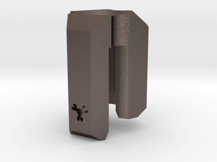 Lanyard Clip Bead - Large 3d printed