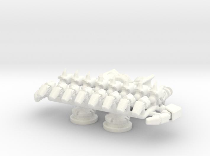 DOTM Leader Sentinel Prime hands (movie acc.) 3d printed