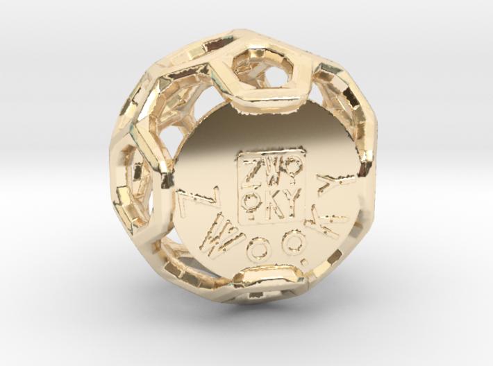 ZWOOKY Style 3409 - Sphere 3d printed