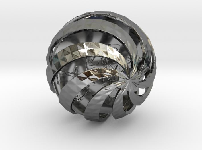 ZWOOKY Style 3411 - Sphere 3d printed